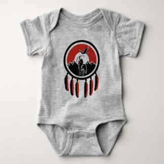 Body Combinaison indienne indigène du Jersey de bébé de