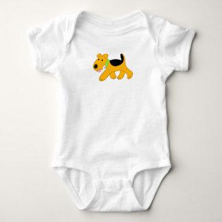 Body Combinaison mignonne de bébé du Jersey de chien