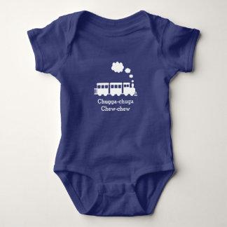 Body Combinaison personnalisée de bébé de train