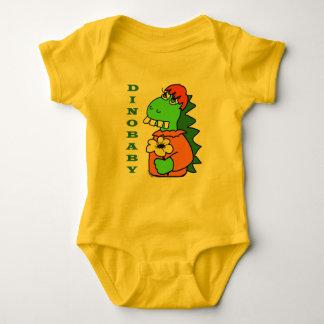 Body Combinaison rouge mignonne de dinosaure de bébé de
