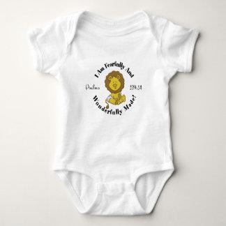 Body Conception de 139:14 de psaumes pour des bébés et