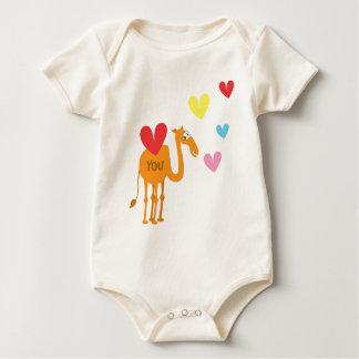 Body Costume mignon de bébé avec le chameau