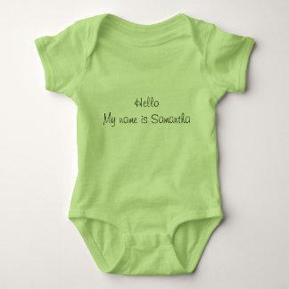 Body Costumes personnalisés de corps de bébé