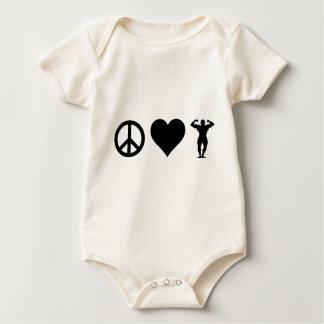Body Culturisme d'amour de paix