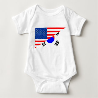 Body demi de drapeau Etats-Unis des Etats-Unis Amérique