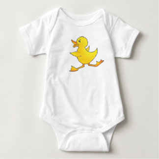 Body Dessus courant d'enfants de caneton jaune de bébé