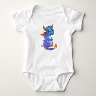 Body Dragon de bleus layette