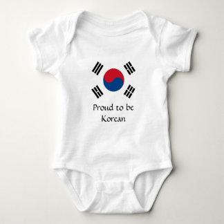 Body Drapeau de la Corée du Sud
