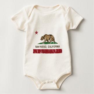 Body drapeau d'état de San Mateo la Californie