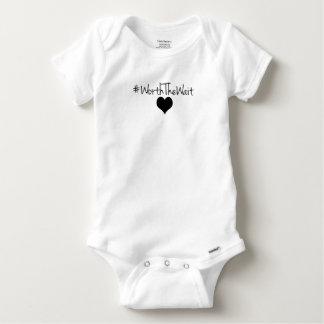 Body En valeur le bébé Onsie d'attente