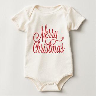 Body Enfant en bas âge de Joyeux Noël
