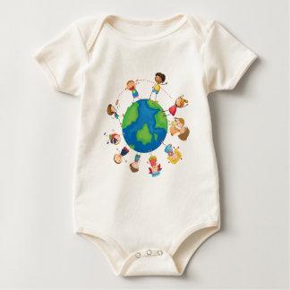 Body Enfants et globe
