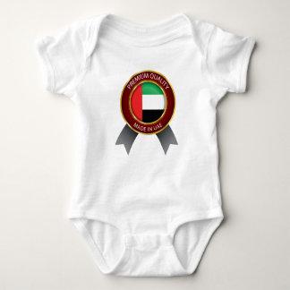 Body Fabriqué aux EAU, drapeau abstrait des EAU, Arabe