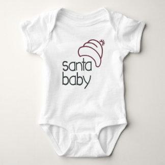 Body Faire-part de grossesse de bébé de Père Noël