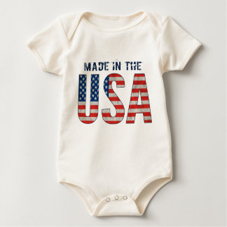 Body Fait dans le drapeau américain des Etats-Unis  