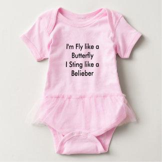Body Fille de chemise de Belieber petite