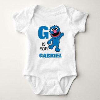 Body G est pour Grover que | ajoutent votre nom
