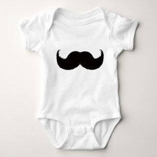 Body Garçon de moustache de Babysuit