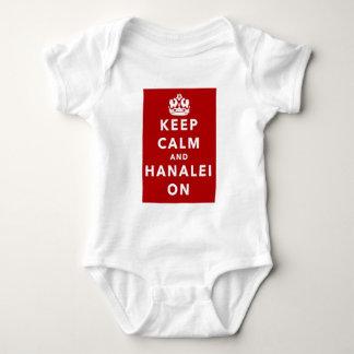 Body Gardez le calme et le Hanalei dessus