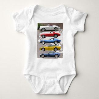 Body Générations de Corvette