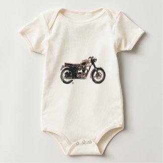 Body Habillement britannique vintage affligé de moto