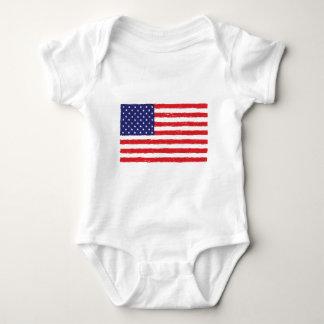 Body *Hand américain Sketch* de drapeau des Etats-Unis