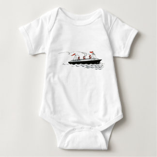 Body Illustration simple vintage de bateau