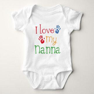 Body J'aime mon Nanna Handprints