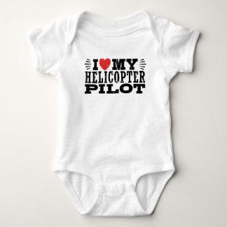 Body J'aime mon pilote d'hélicoptère