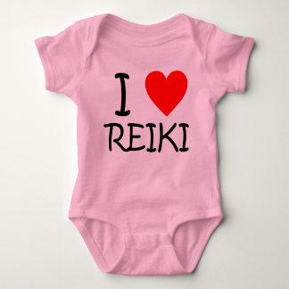 "Body ""Je combinaison de jersey de bébé de Reiki de"