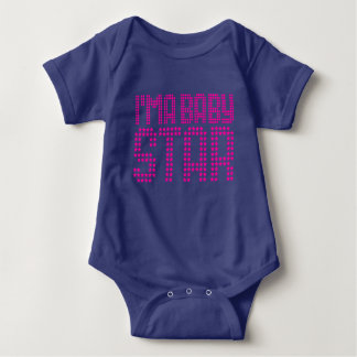 Body Je suis une combinaison du Jersey de bébé d'étoile