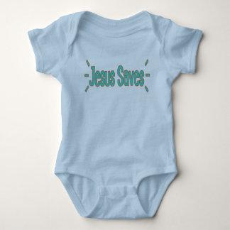 Body Jésus sauve la combinaison du Jersey de bébé
