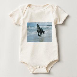 Body kaki cheval taille 18 mois