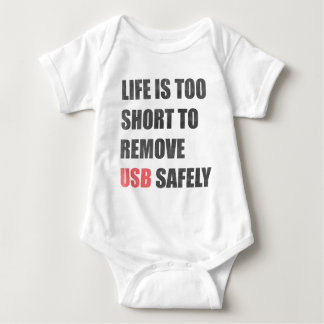 Body La vie est trop courte pour enlever l'Usb sans