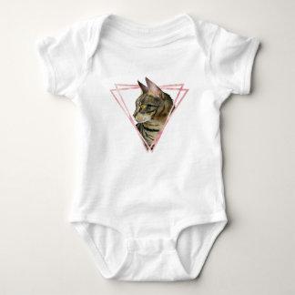 Body Le chat tigré avec le Faux rougissent cadre