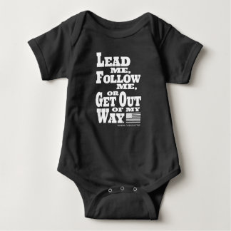 Body Le Général George Patton Quote Baby Onsie