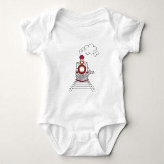 Body Le train de Choo-Choo de la pièce en t de bébé de