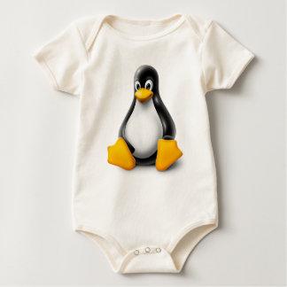 Body Linux Tux le pingouin