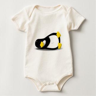 Body Linux Tux sleeping