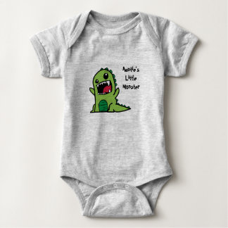 Body Little Monster Baby Vest de tante