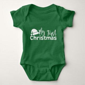 Body Ma première combinaison de bébé de Noël
