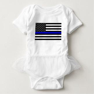 Body Matière bleue des vies - la police de drapeau des