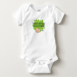 Body Meconium se produit chemise drôle de bébé