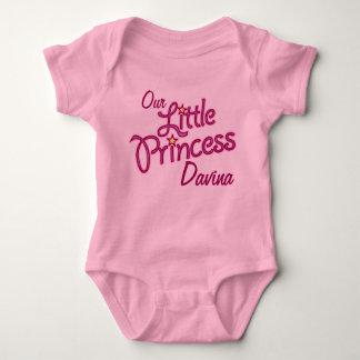 Body Notre petite princesse appelée chemise de filles