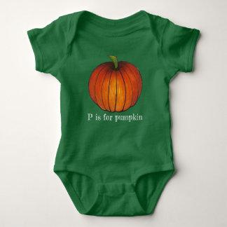 Body P a lieu pour l'automne orange d'initiale