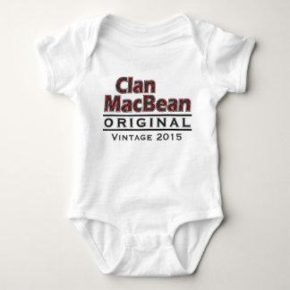 Body Personnaliser vintage de MacBean de clan votre