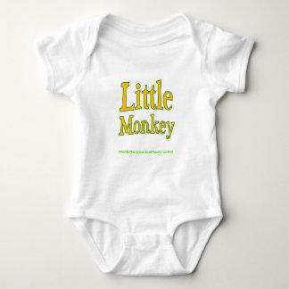 Body Petit bébé Onesy de singe