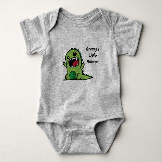 Body Petit gilet de bébé du monstre de mamie