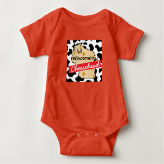 Body Petite chemise du Wisconsin Cheesehead de bébé