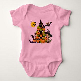 Body Petite combinaison du Jersey de bébé de sorcière